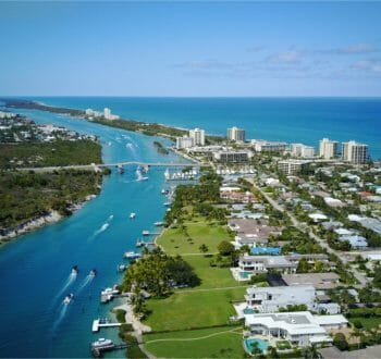 jupiter florida skyline